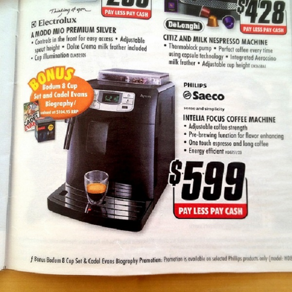Saeco HD8751/11 Kaffeevollautomat