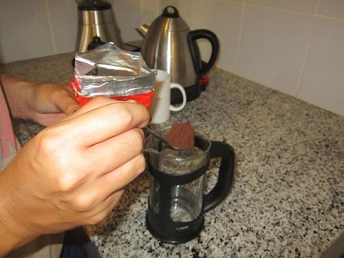 """Espresso für den """"coffee plunger"""""""